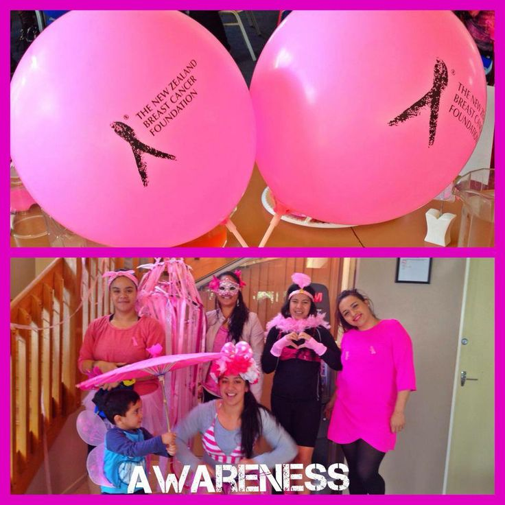 The Te Aroha Netball club were all pinked out at their Breakfast!