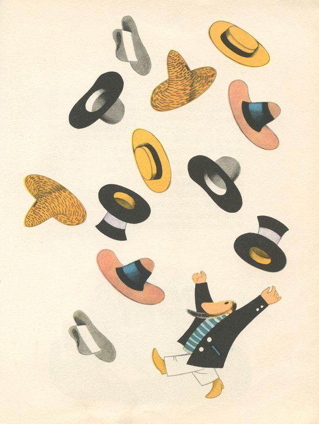 Vladimír Fuka (1926 - 1977) Ilustrador, pintor y escultor - The Ideas of Mr. April.