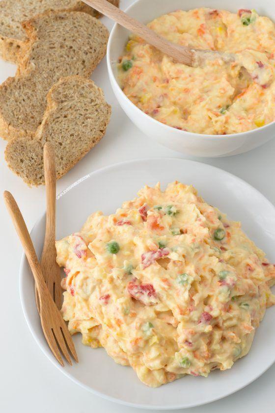 Vegan Olivier Salad