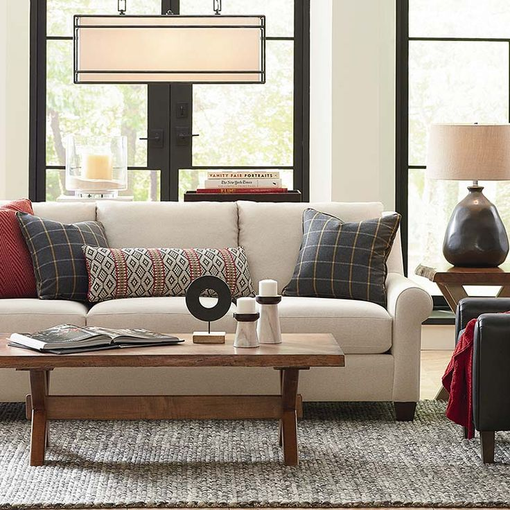 Casual Family Room Ideas Part - 33: American Casual Ellery Great Room Sofa