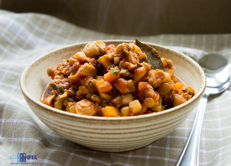 Jusia gotuje , food blog, healthy, zdrowo, jedzenie, proste gotowanie, : Danie jednogarnkowe z soczewicą ( wegetariańskie ). / One pot with lentils ( vege ).