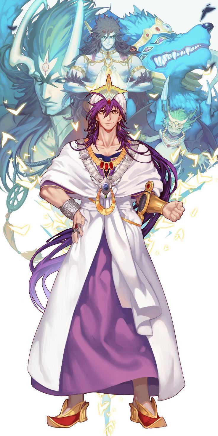 Pin by Bethany Larson on wpp Sinbad magi, Anime magi