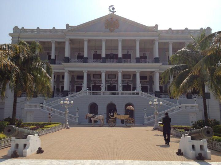 Taj Falaknuma Palace in Hyderabad, Andhra Pradesh