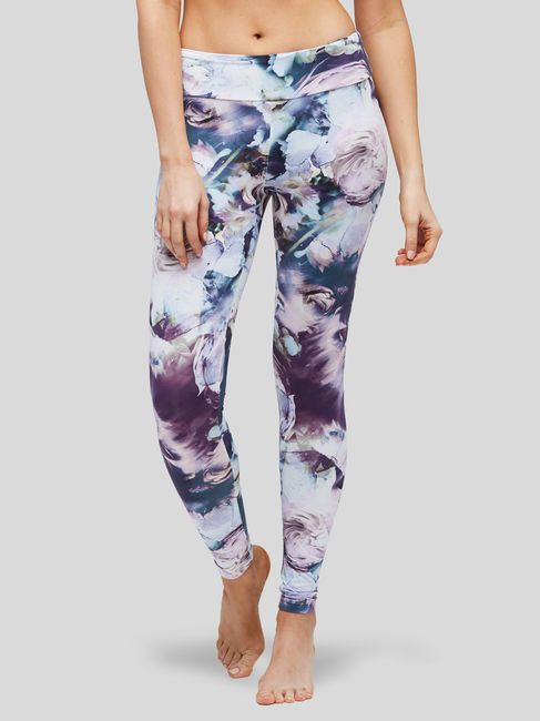 243a03cd197dd AUTUMN FLOWERS LEGGING, Deep Purple, hi-res | Fashion: Clothes ...