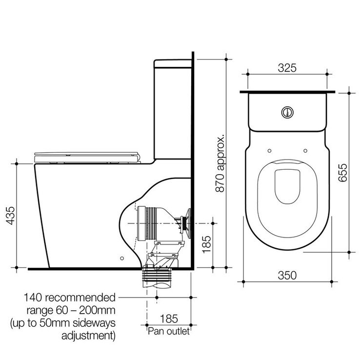 Toilet Suites   Liano   Liano Cleanflush  Easy Height Wall Faced Toilet  Suite with Double. Best 25  Toilet suites ideas on Pinterest   Toilets  Contemporary