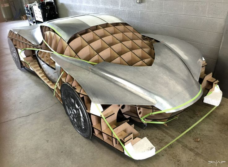It's every car-designer's dream—to design and build a supercar from scratch, with no constraints. Talking with Carlos Salaff, ex-Mazda exterior designer, I realize he is living that dream—he's the master of his own creation. And what a creation: Project Caden is a supercar with voluptuous surfaces formed by hand, flowing
