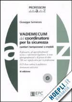 #Vademecum del coordinatore per la sicurezza  ad Euro 43.00 in #Scienza e tecnica ingegneria #Epc libri