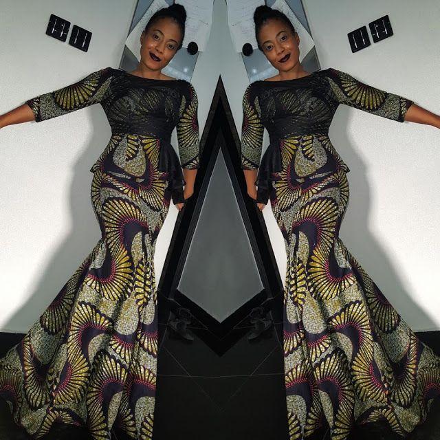 Creative Ankara Skirt And Blouse Style -http://www