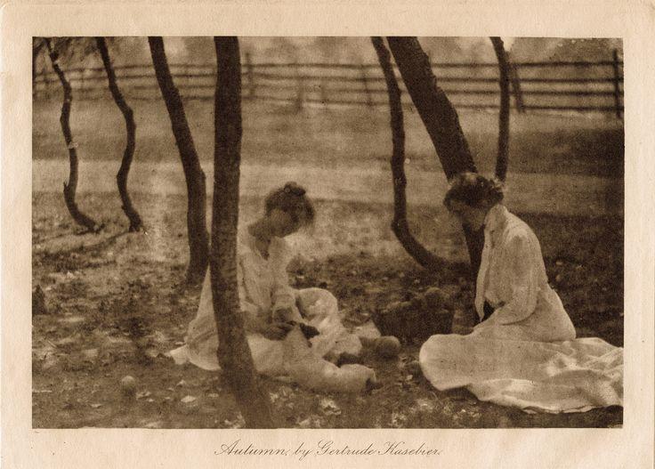 Gertrude Kasebier | Autumn, 1903