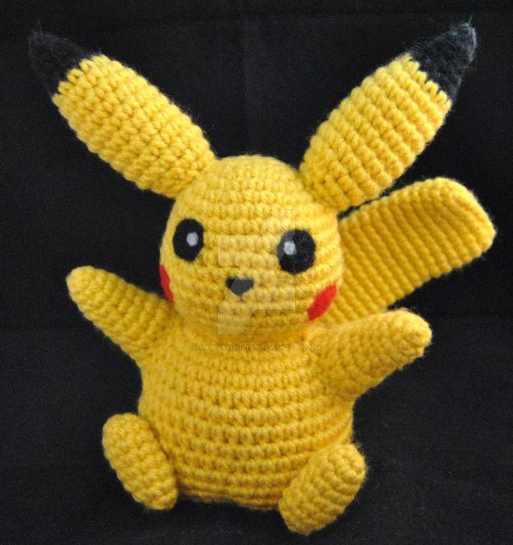 Pikachu Pokemon Inspired Amigurumi 1 by ChibiSayuriEtsy.deviantart.com on @DeviantArt