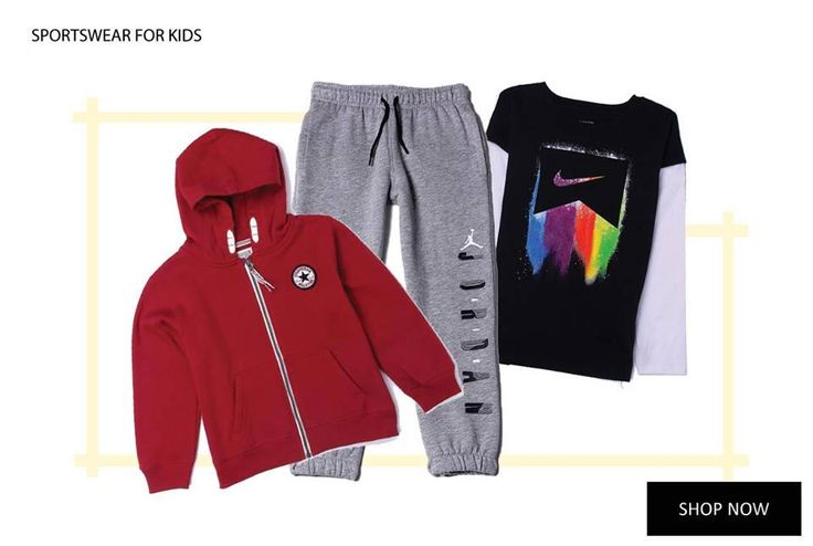 Celebrate the arrival of new season with some sporty fashion for the little monster in the family. Include Kapkids in your Sunday Shopping routine to get the newest kidswear. #Kapkids #SundayShopping