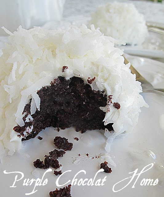 Purple Chocolat Home: Search results for Snowball cupcakes