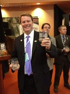 Cheers from the Governor's Bourbon Reception: Welcoming the VP Debate to Centre, and to Kentucky