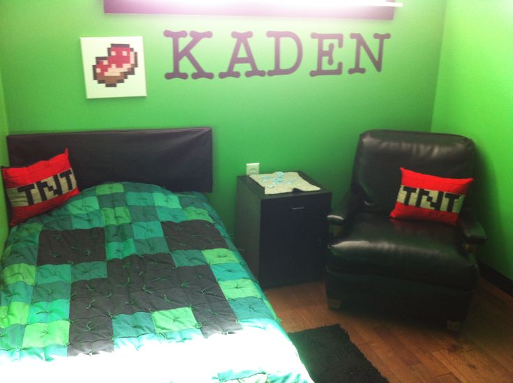 22 best Minecraft Bedroom for my boys images on Pinterest