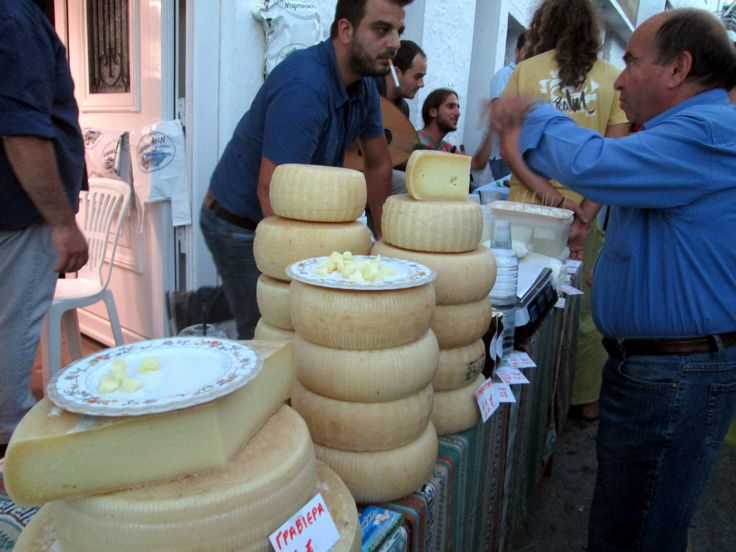 Fantastic Cretan cheese for sale and sampling