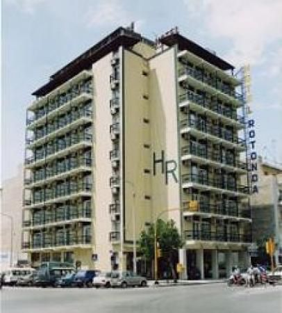 Hotel Rotonda Thessaloniki in 2007, before the big renovation