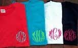 Monagram Shirts!!