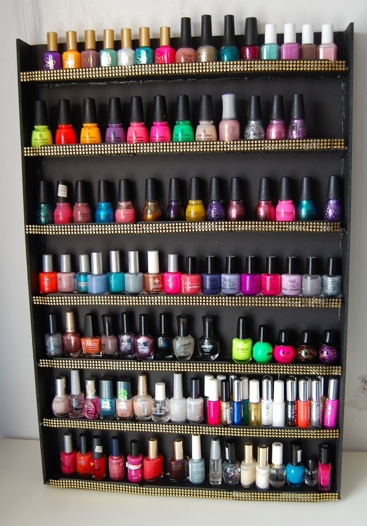 Do it yourself nail polish box creative touch do it yourself nail polish box solutioingenieria Choice Image