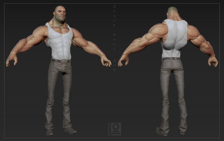 """duncan created """"Some guy...... I guess........ I don't know who he is."""" - Polycount Forum"""