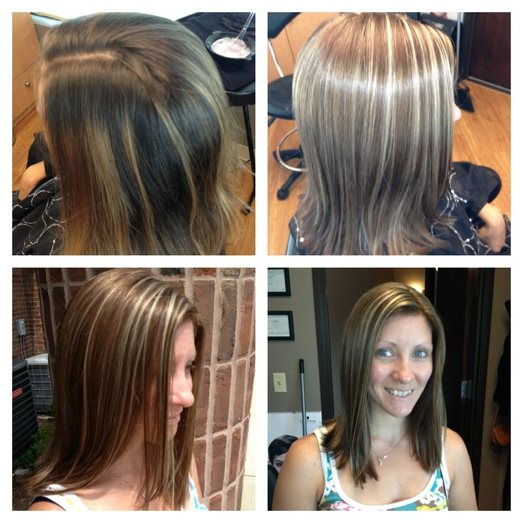 Blonde Highlights Light Brown Hair Hair By Melissa