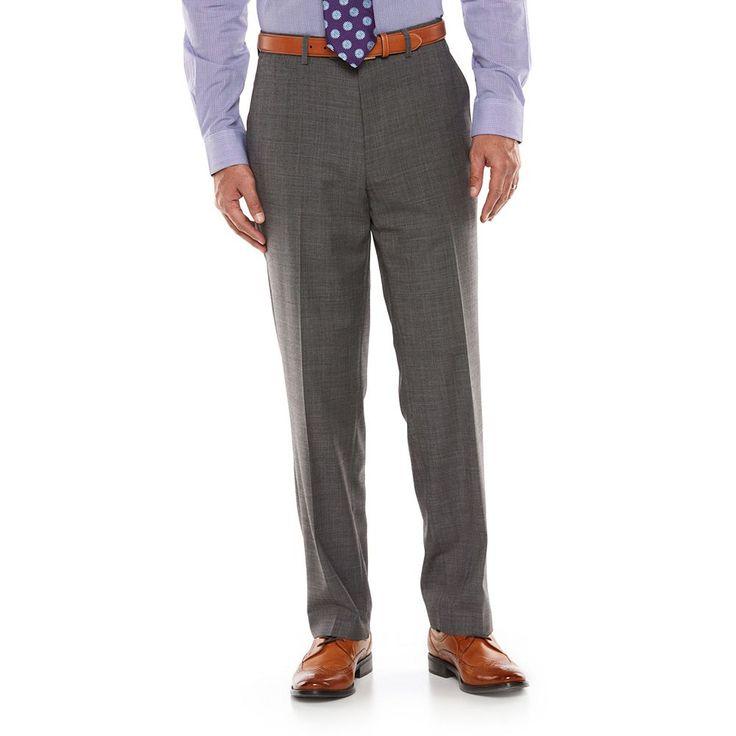 Men's Chaps Performance Slim-Fit Suit Pants, Size: 29X32, Grey
