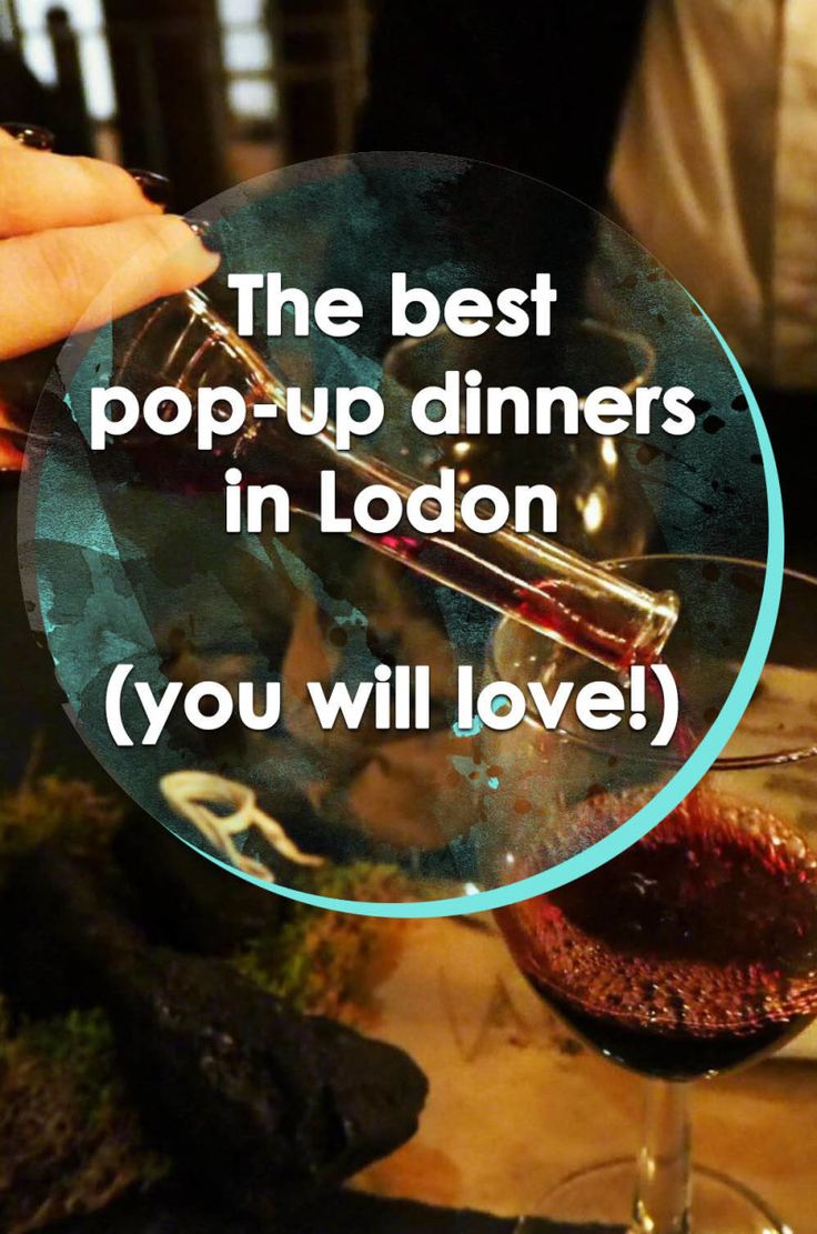 The best pop-up dinners in London | Runawaykiwi, Expat in London