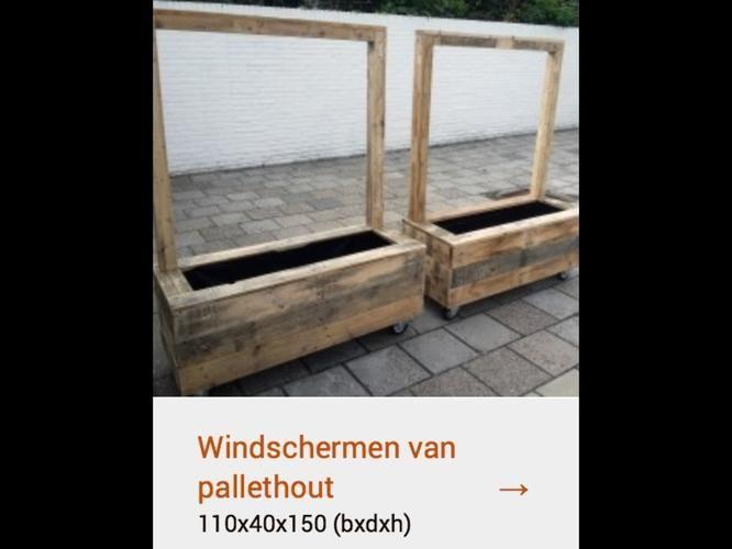 windscherm steigerhout - Google zoeken