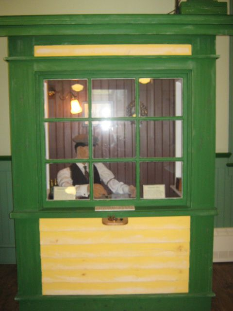 Ticket Booth Replica