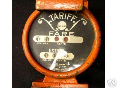 Jones taxi meter