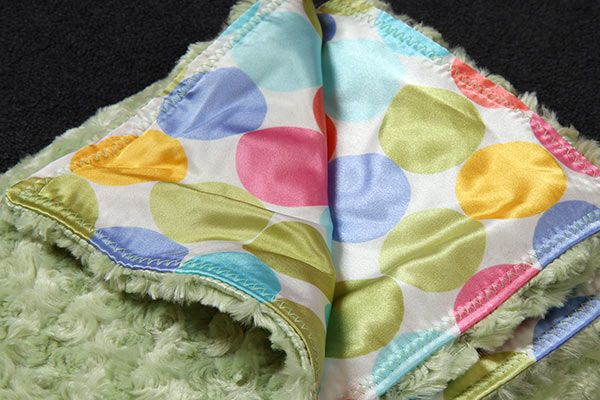 Being Frugal and Making It Work: Soft & Silky Handmade Baby Blankets - AllyZabba Review & Giveaway