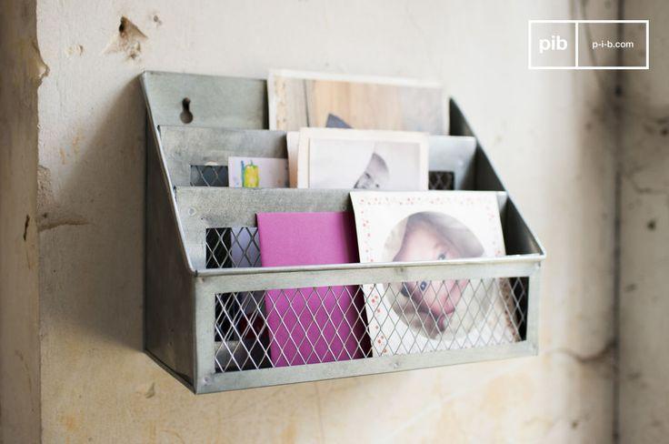 Porta lettere Sabir e molti altri scatole e ceste da scoprire su PIB, lo specialista in arredamenti, illuminazioni e decorazioni vintage.