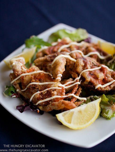 The Hungry Excavator: Tempura Soft Shell Crab Recipe
