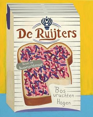 Jonna Pedersen - Dutch Breakfast Joy  100 x 80 cm