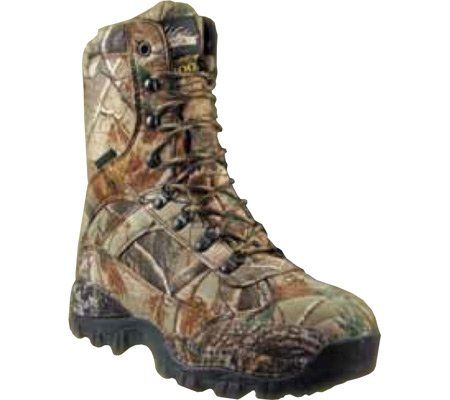 Men's Itasca Carbine 9 inch 1200 - gram Thinsulate Ultra Insulated Waterproof Camo Hunting Boots Realtree, REALTREE, 10.5