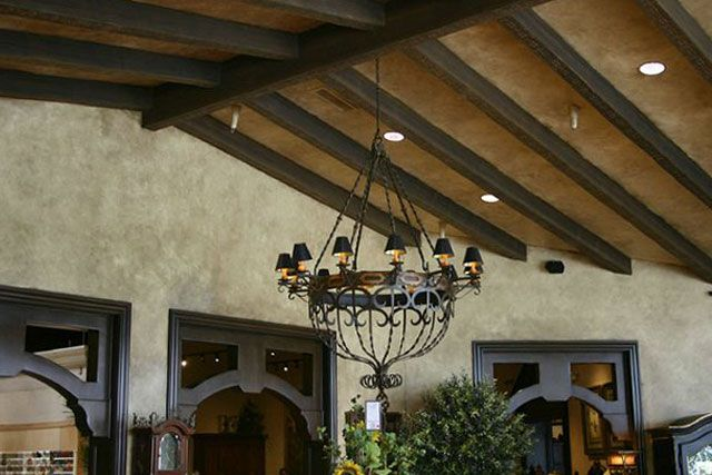 Fake Ceiling Beams ~ Best images about faux coffered ceiling on pinterest