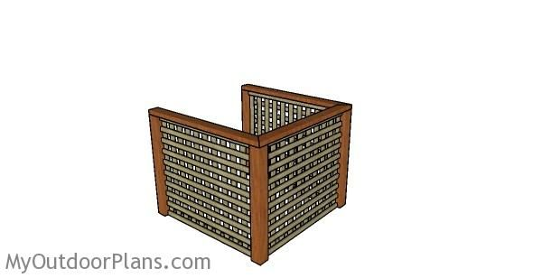 Air Conditioner Screen Plans | MyOutdoorPlans | Free ...