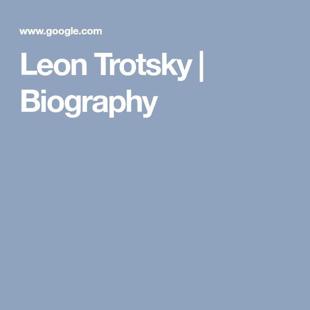 Leon Trotsky | Biography