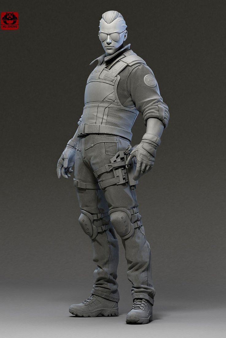 ZBrush sculpt  , hu zheng on ArtStation at https://artstation.com/artwork/zbrush-sculpt-6de0ffbf-571f-4fa3-889d-24c802c79e5d
