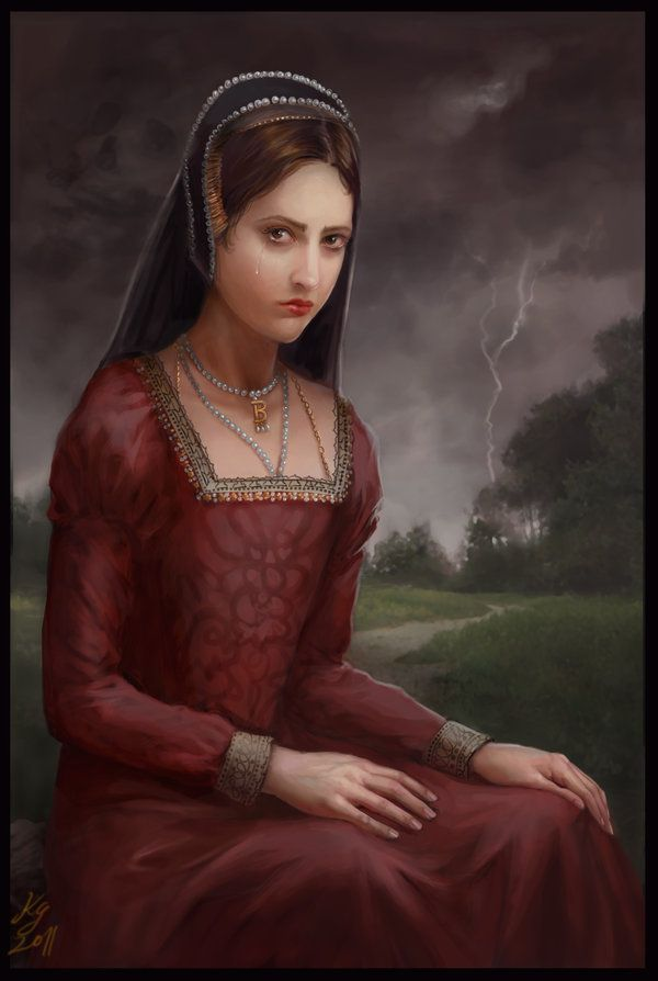 TudorQueens - Anne Boleyn, second wife of King Henry VIII of England.... by KristinaGehrmann: