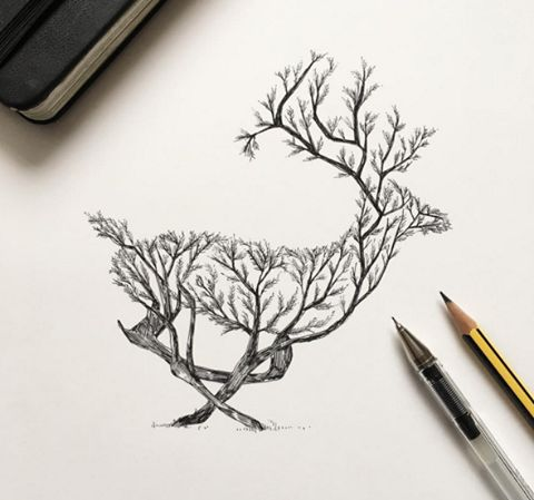 'Creative Sketches Drawings by Italian Artist Alfred Basha  instagram : https://www.instagram.com/alfredbasha/  website : http://www.alfredbasha.com/'