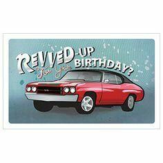 10 best Muscle Car Birthday images on Pinterest Birthdays Car