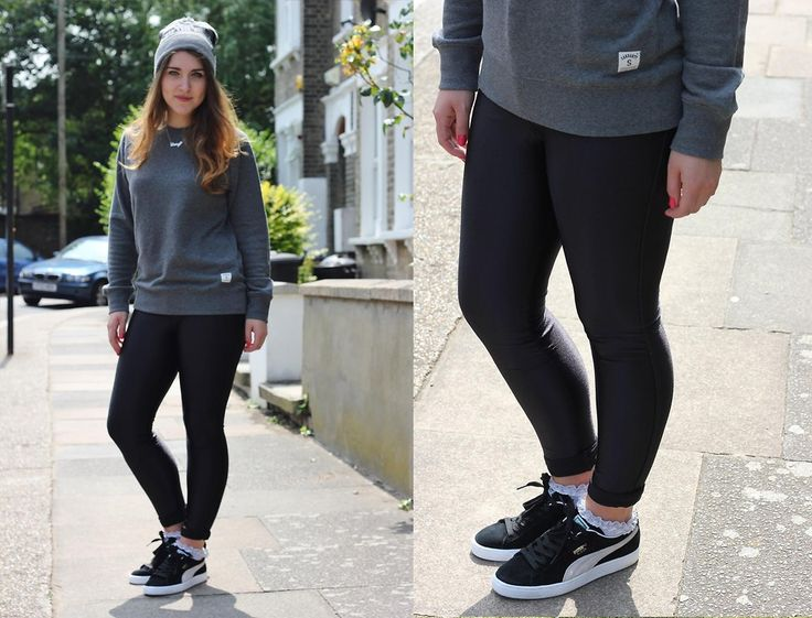 puma suede outfit tumblr