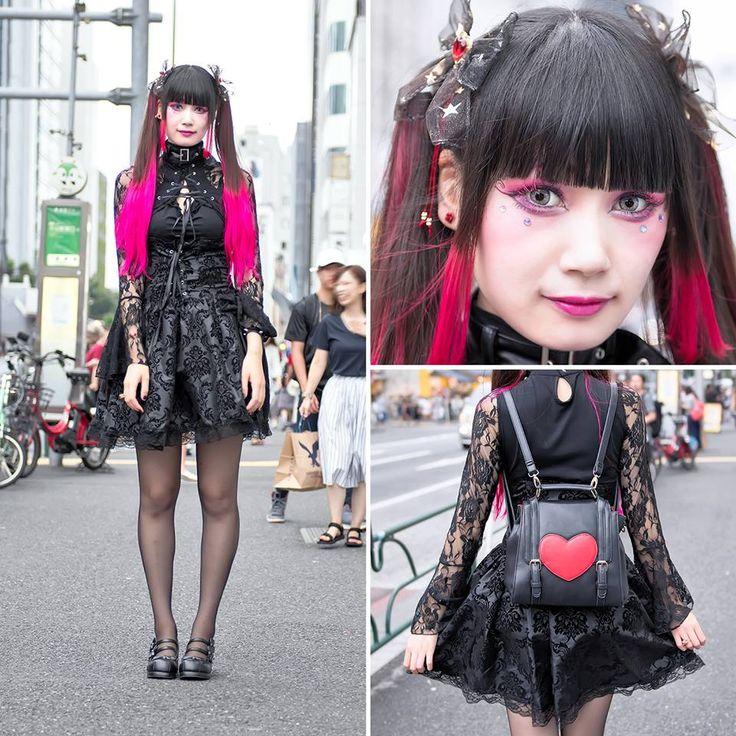 tokyo fashion harajuku pinterest