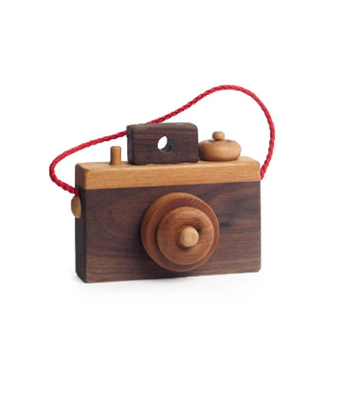 Wooden Toy Camera | Handmade Wooden Camera Toy - Brimful