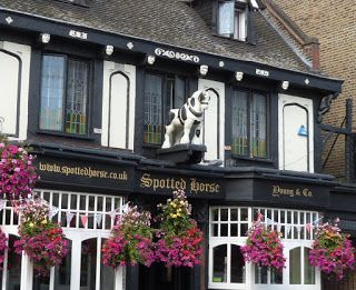 Ye Olde Spotted Horse pub in East Putney, London. Actually not that 'olde', as it was built in 1889.