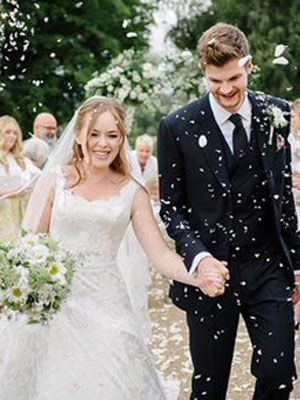 The YouTube couple are officially man and wife after tying the knot