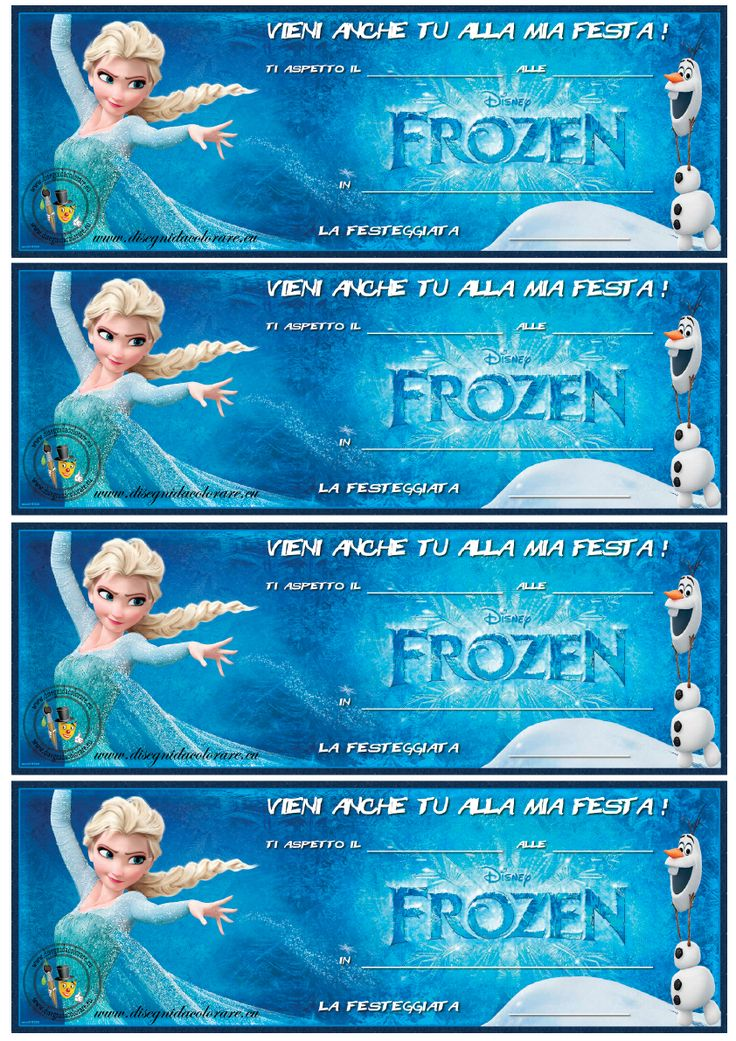Printable Frozen Invitations for awesome invitations layout