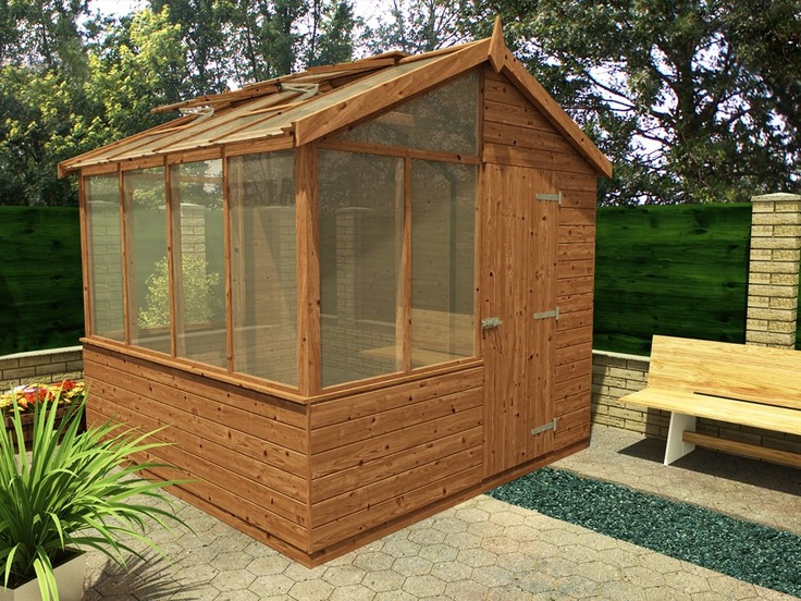 Useful cedar potting shed uk for Buy potting shed