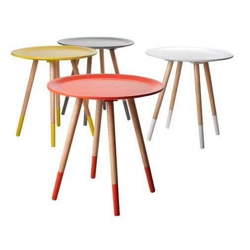 Bijzettafel Two Tone Zuiver Grijs - Moderne tafels - Tafels | Zen Lifestyle