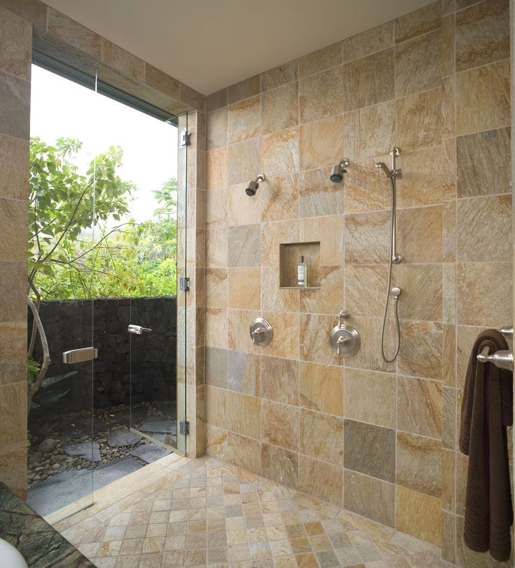 Some Design Ideas To Decorate Your Small Bathroom With Images Indoor Outdoor Bathroom Luxury Master Bathrooms Simple Bathroom Renovation